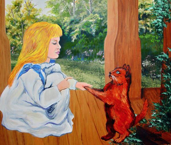 Porch Painting - The Dance Lesson by Karon Melillo DeVega