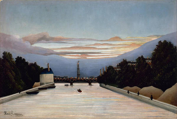Painting - The Eiffel Tower by Henri Rousseau