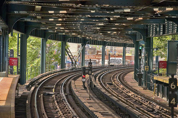 Photograph - The El by Frank Winters