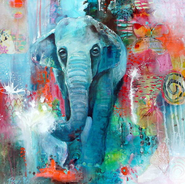 Wall Art - Photograph - The Elephant And The Butterfly by Tracy Verdugo