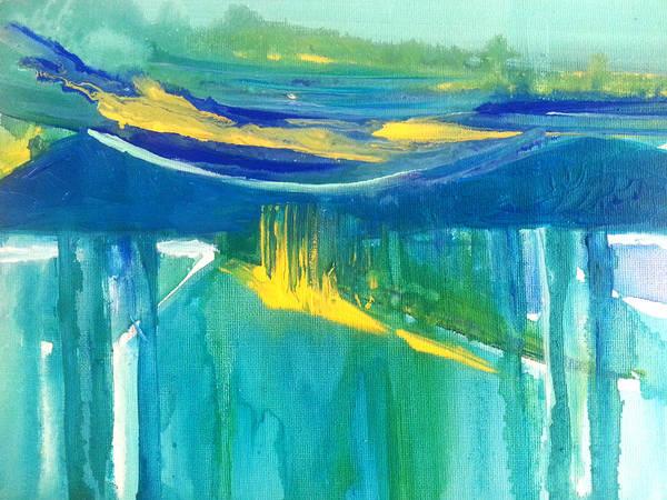 Painting - The Emerald Sea by Nikki Dalton