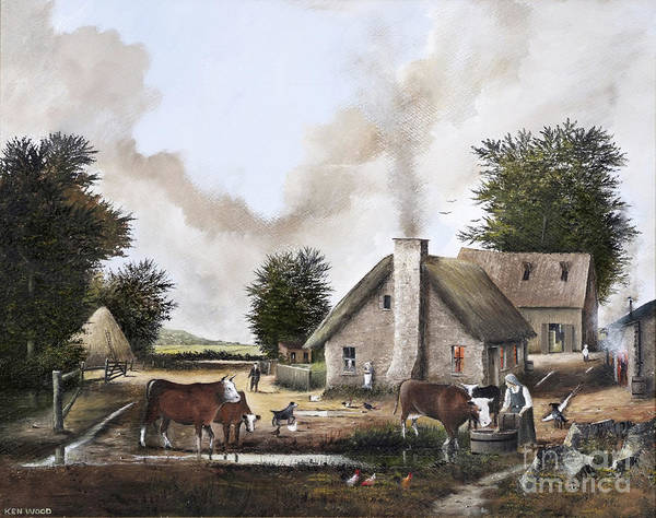 The Farmyard Art Print