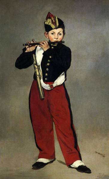 Wall Art - Painting - The Fifer by Edouard Manet