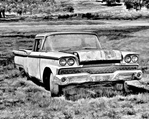 Photograph - The Ford Ranchero by William Havle