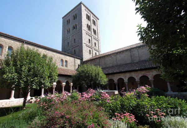 Photograph - The Garden At The Cloisters by Steven Spak
