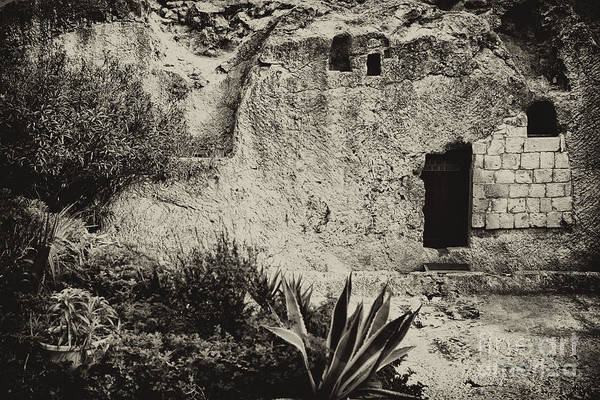 Jewish Homeland Photograph - The Garden Tomb by Thomas R Fletcher