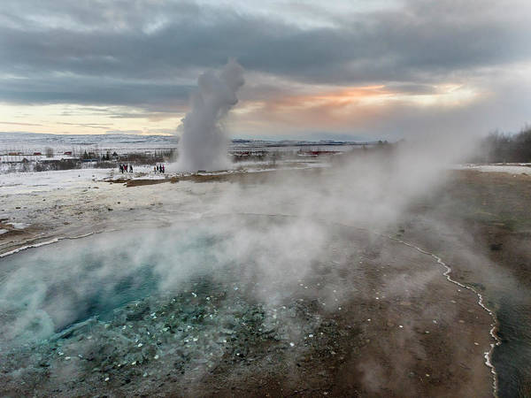 Mid-atlantic Photograph - The Geothermal Area Haukadalur Part by Martin Zwick