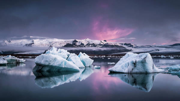 Wall Art - Photograph - The Glacier Lagoon by Andreas Wonisch