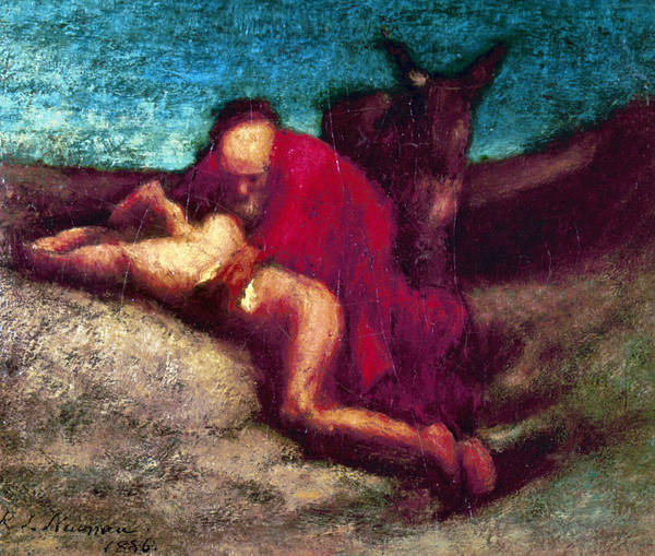 Painting - The Good Samaritan by Granger