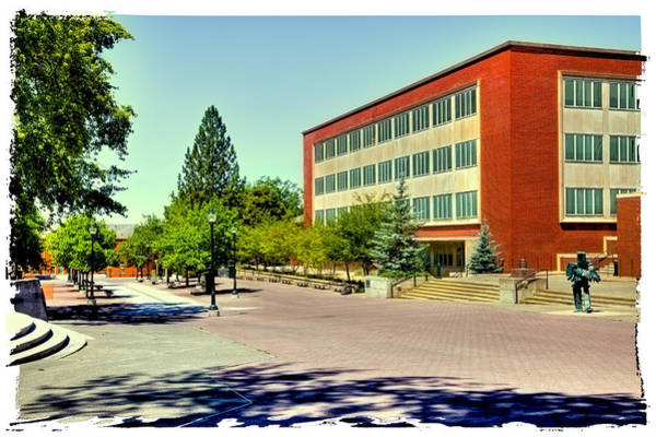 Photograph - The Holland Library - Washington State University by David Patterson