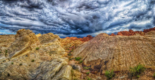 Valley Of Fire State Park Photograph - The Hollow by Stephen Campbell
