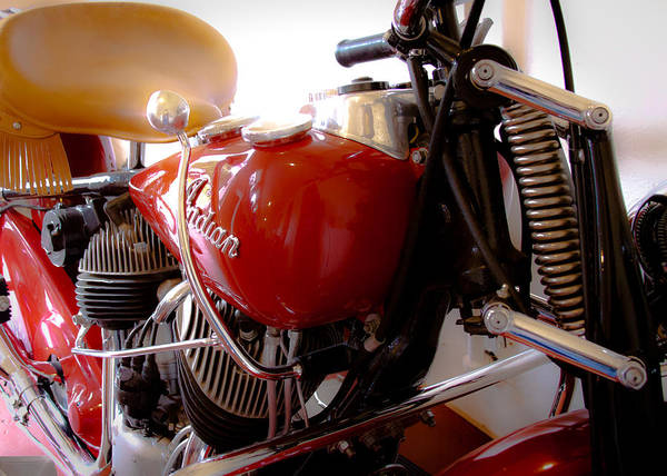Photograph - The Indian Motorcycle by David Patterson