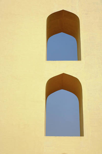 Edifice Photograph - The Jantar Mantar, A Collection by Adam Jones