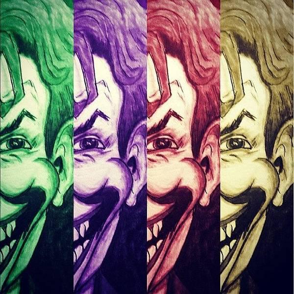 Comics Wall Art - Photograph - The Joker by Vickie Scarlett-Fisher