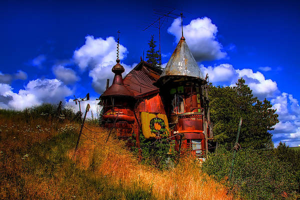 Photograph - The Junk Castle by David Patterson