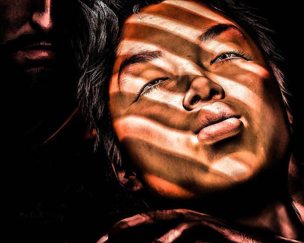 Digital Art - The Kiss by Bob Orsillo