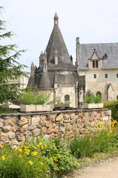Fontevraud Photograph - The Kitchenbuilding Of Abbey Fontevraud by Christiane Schulze Art And Photography