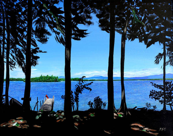 Painting - The Lake by Meghan OHare