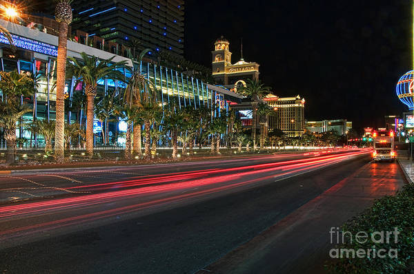 Photograph - The Las Vegas Strip by Eddie Yerkish