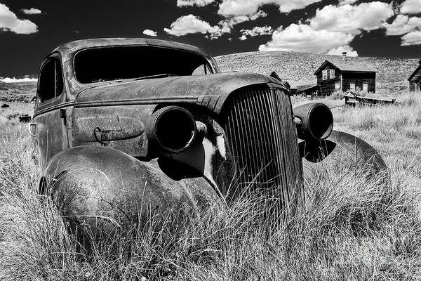 Ghosttown Photograph - The Last Frontier - Bodie - California by Henk Meijer Photography