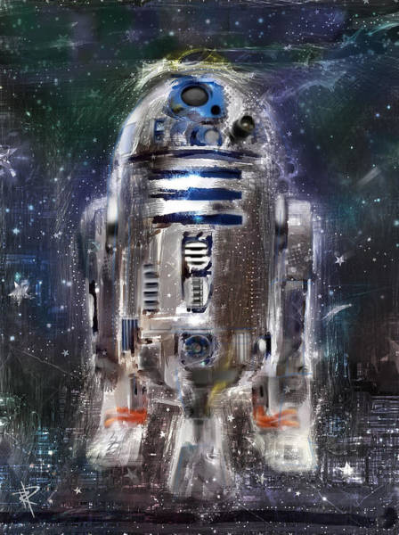 Star Wars Wall Art - Digital Art - The Little Guy by Russell Pierce