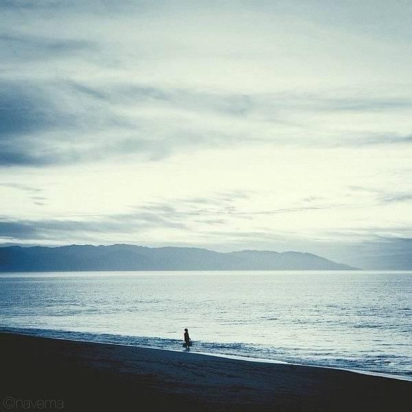 Minimalism Photograph - The Lonely Fisherman by Natasha Marco