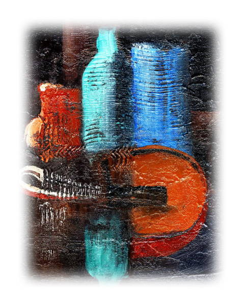 Painting - The Mandolin by Val Byrne