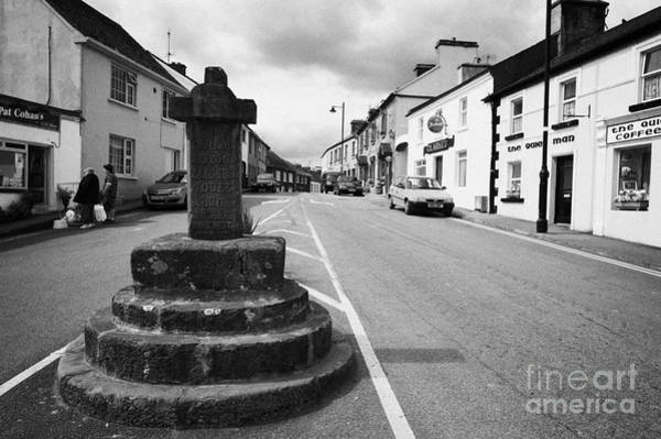 Gaelic Photograph - The Market Cross Cong Village County Mayo Ireland by Joe Fox