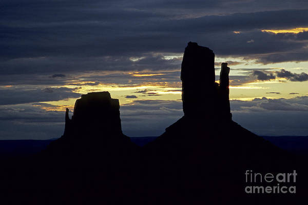 Photograph - The Mittens From Lookout Point by Fred Stearns