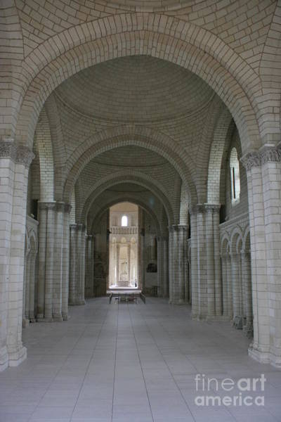 Fontevraud Photograph - The Nave - Cloister Fontevraud by Christiane Schulze Art And Photography