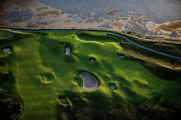Golf Course Photograph - The Old Course by Dom Furore