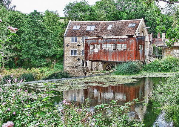Photograph - The Old Mill Avoncliff by Paul Gulliver