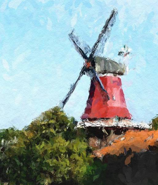 Wall Art - Painting - The Old Mill by Steve K