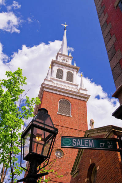 Wall Art - Photograph - The Old North Church And Gas Street by Russ Bishop