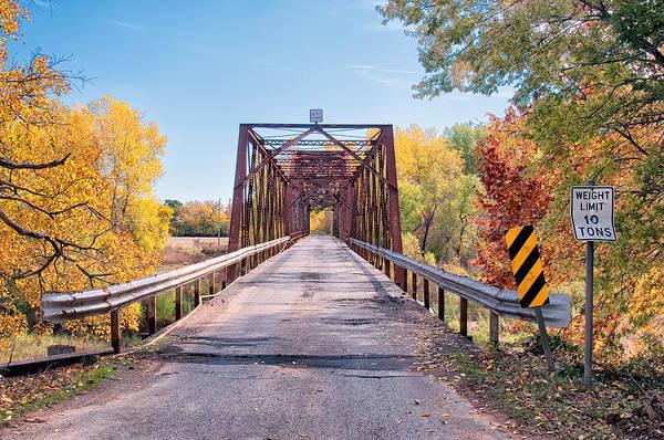 The Old River Bridge Art Print