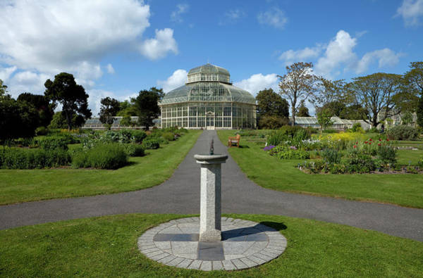 Glasshouse Photograph - The Palm House, National Botanic by Panoramic Images