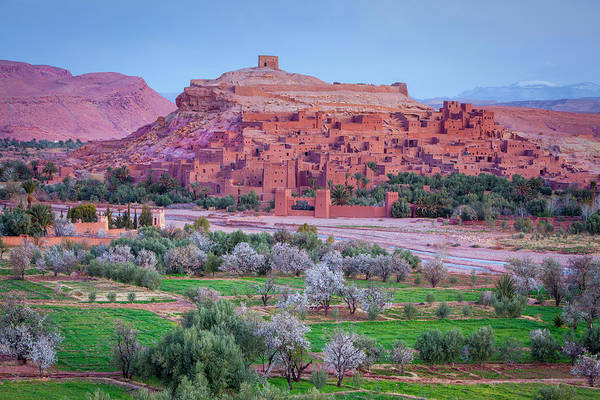 Ait Benhaddou Photograph - The Picturesque Hilltop Village Of Ait by Douglas Pearson