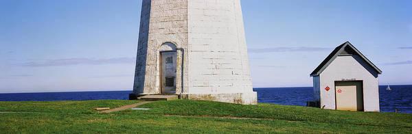 Narragansett Photograph - The Point Judith Light, Narragansett by Panoramic Images