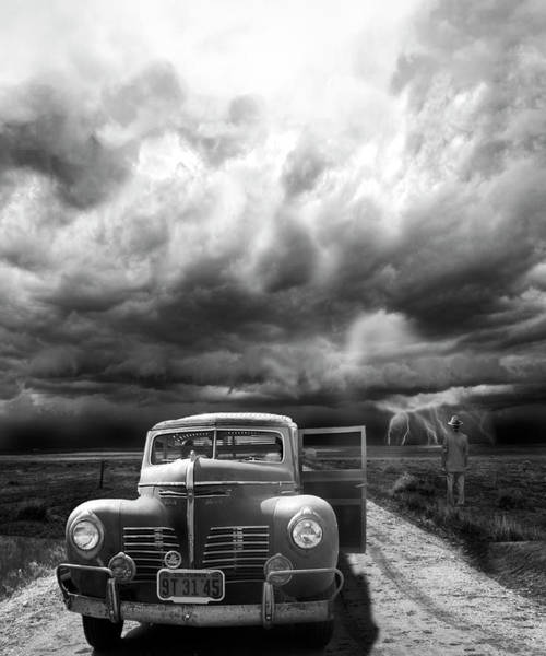 Classic Car Photograph - The Rainmaker by Larry Butterworth