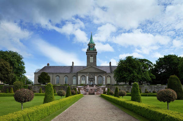 County Dublin Photograph - The Renovated Gardens In The Grounds by Panoramic Images
