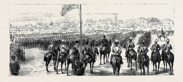 Royal Artillery Wall Art - Drawing - The Royal Visit To Great Yarmouth The Prince Of Wales by English School