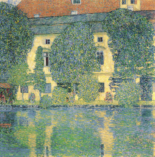 Painting - The Schloss Kammer On The Attersee IIi by Celestial Images