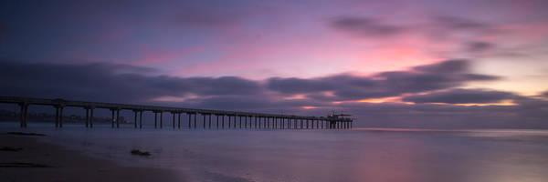 Scripps Pier Photograph - The Scripps Pier by Peter Tellone