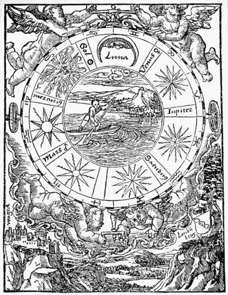 Photograph - The Seven Planets, 1536 by Granger