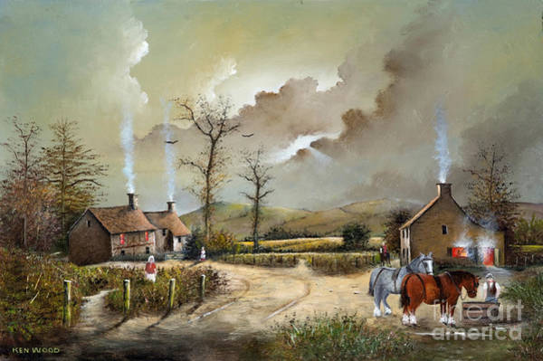 Painting - The Smithy by Ken Wood