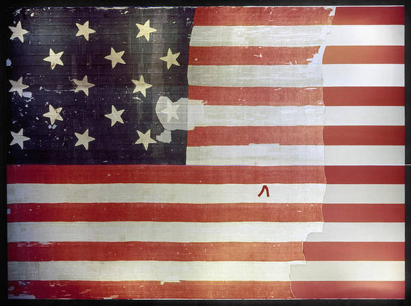 Star-spangled Banner Wall Art - Painting - The Star Spangled Banner by Granger