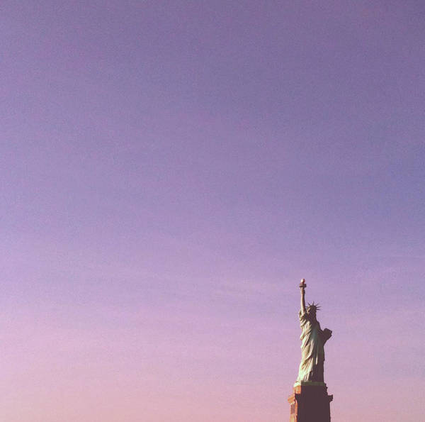Statue Photograph - The Statue Of Liberty by Lasse Kristensen