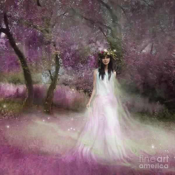 Wall Art - Photograph - The Summer Fairy by Angel Ciesniarska