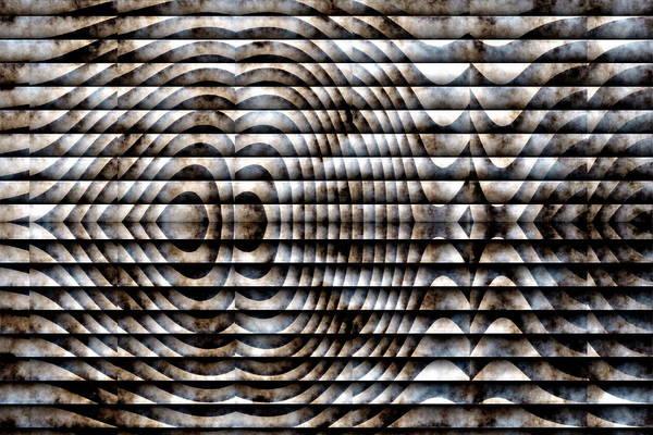 Art Print featuring the digital art The Symbol by Mihaela Stancu