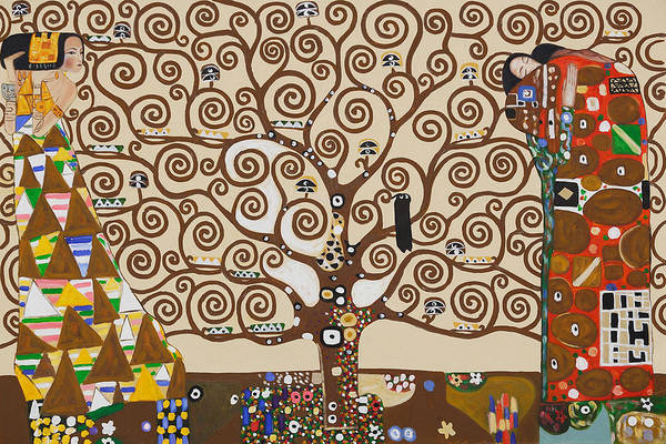 Wall Art - Painting - The Tree Of Life by Celestial Images